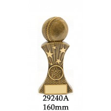 Cricket Trophies 29240A - 160mm Also 180mm & 210mm