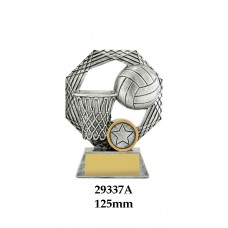 Netball Trophies - 29337A - 125mm Also 150mm & 175mm