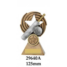 Cricket Trophies 29640A - 125mm Also 155mm & 185mm