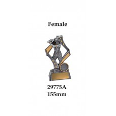 Baseball Softball Trophies Female  29775A - 155mm Also 195mm & 235mm