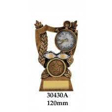 Swimming Trophies 30430A - 125mm Also 140mm & 155mm