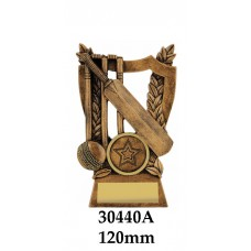 Cricket Trophies 30440A - 120mm Also 140mm & 155mm