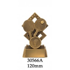 Table Tennis Trophies 30566A - 120mm Also 140mm
