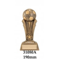 Soccer Trophies 31080A - 190mm Also 220mm & 260mm