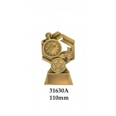 Swimming Trophies 31630A - 110mm Also 130mm & 150mm