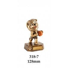 Basketball Trophies Lion - 318-7 - 128mm
