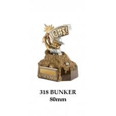 Golf Trophies 318Bunker - 80mm
