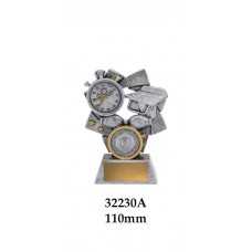 Swimming Trophies 32230A - 110mm Also 130mm & 150mm