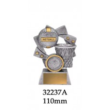 Netball Trophies 32237A - 110mm Also 130mm & 150mm