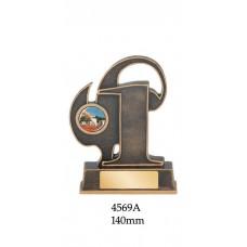 Athletics Trophies 4569A  - 140mm