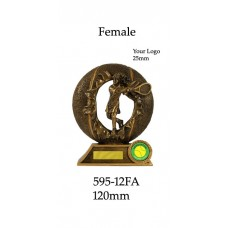 Tennis Trophies  595-12FA - 120mm Also 135mm & 150mm