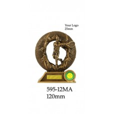 Tennis Trophies  595-12MA - 120mm Also 135mm & 150mm