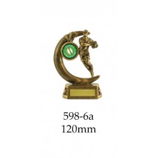 Rugby Trophies 598-6A - 120mm Also 135mm 150mm 175mm & 200mm SPECIAL