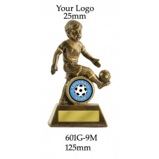 Soccer Trophies Male 601G-9M - 125mm
