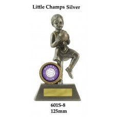 Netball Trophies 601S-8 - 125mm