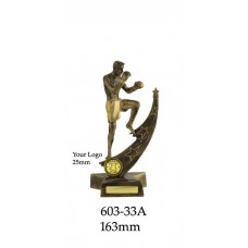 Boxing Kickboxing Trophies 603-33A - 163mm Also 188mm & 213mm
