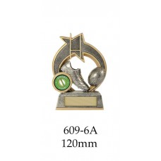 Rugby Trophies 609-6A - 120mm Also 140mm & 155mm