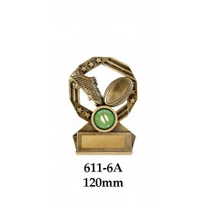 Rugby Trophies 611-6A - 120mm Also 140mm & 155mm