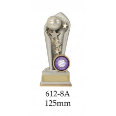 Netball Trophies 612-8A - 125mm Also 150mm 175mm 200mm & 225mm