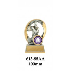 Netball Trophies 613-88AA - 100mm Also 120mm 140mm 155mm & 180mm