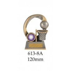 Netball Trophies 613-8A - 120mm Also 140mm & 155mm