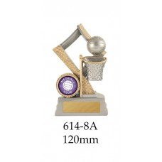 Netball Trophies 614-8A - 120mm Also 140mm & 155mm