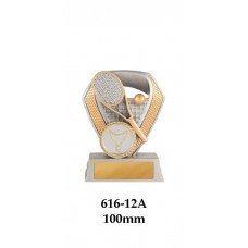 Tennis Trophies  616-12A - 100mm Also 120mm & 140mm