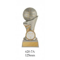 Basketball Trophies 620-7A - 125mm Also 150mm, 175mm, 200mm & 225mm