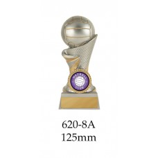 Netball Trophies 620-8A - 125mm Also 150mm 175mm 200mm 225mm