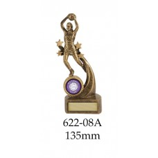Netball Trophies 622-8A - 135mm Also 160mm 180mm 210mm & 235mm
