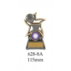 Netball Trophies 628-8A  - 115mm