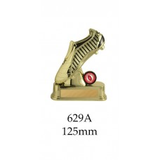 AFL Aussie Rules Golden Boot 629A - 125mm Also 150mm & 170mm