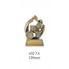 Basketball Trophies 632-7A - 120mm Also 140mm & 155mm