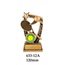 Tennis Trophies  633-12A - 120mm Also 140mm & 155mm