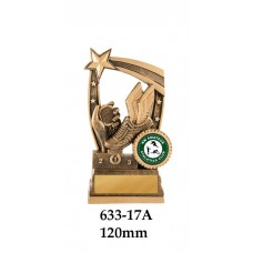 Athletics Trophies 633-17A - 120mm Also 140mm & 155mm