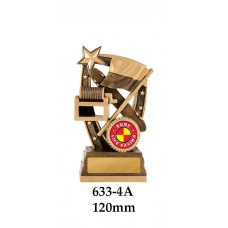 Surf Life Saving Trophies 633-4A - 120mm Also 140mm & 155mm