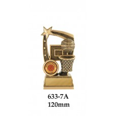 Basketball Trophies 633-7A - 120mm Also 140mm & 155mm