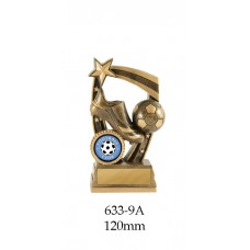Soccer Trophies 633-9A - 120mm Also 140mm & 155mm