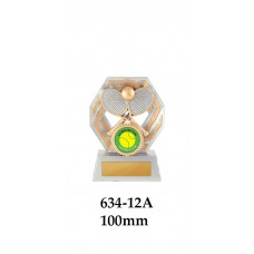 Tennis Trophies 634-12A - 100mm Also 120mm & 140mm