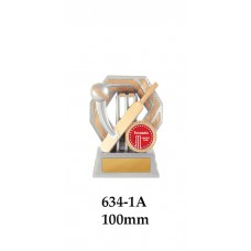 Cricket Trophies 634-1A - 100mm Also 120mm & 140mm
