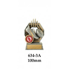 AFL Aussie Rules 634-3A - 100mm Also 120mm & 140mm
