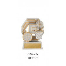 Basketball Trophies 634-7A - 100mm Also 120mm & 140mm