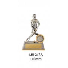 Hockey Trophies Female 635-24FA - 140mm Also 180mm & 225mm