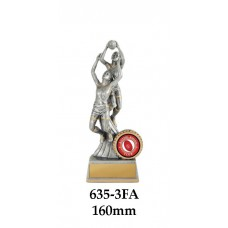 AFL Aussie Rules Female 635-3FA - 160mm Also 190mm 225mm 250mm 275mm 310mm 360mm & 410mm