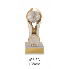 Basketball Trophies 636-7A - 125mm Also 150mm, 175mm, 200mm & 225mm