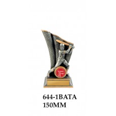 Cricket Trophies 644-1BATA - 150mm Also 200mm 250mm & 300mm