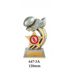 AFL Aussie Rules - 647-3A- 120mm Also 140mm & 155mm