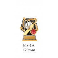 Cricket Trophies 648-1A - 120mm Also 140mm & 155mm