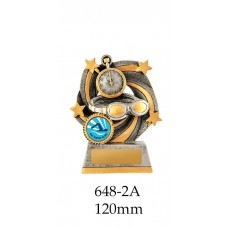 Swimming Trophies 648-2A - 120mm Also 140mm & 155mm