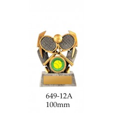 Tennis Trophies 649-12A - 100mm Also 120mm & 140mm